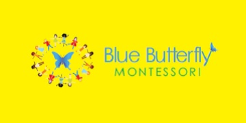 Logo for Blue Butterfly Montessori